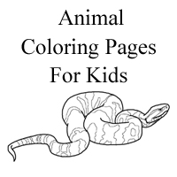 water snake coloring pages - photo#20