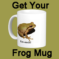 Get Your Frog Mug Button